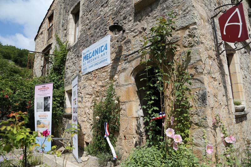 Galerie MECANICA à Saint-Cirq-Lapopie