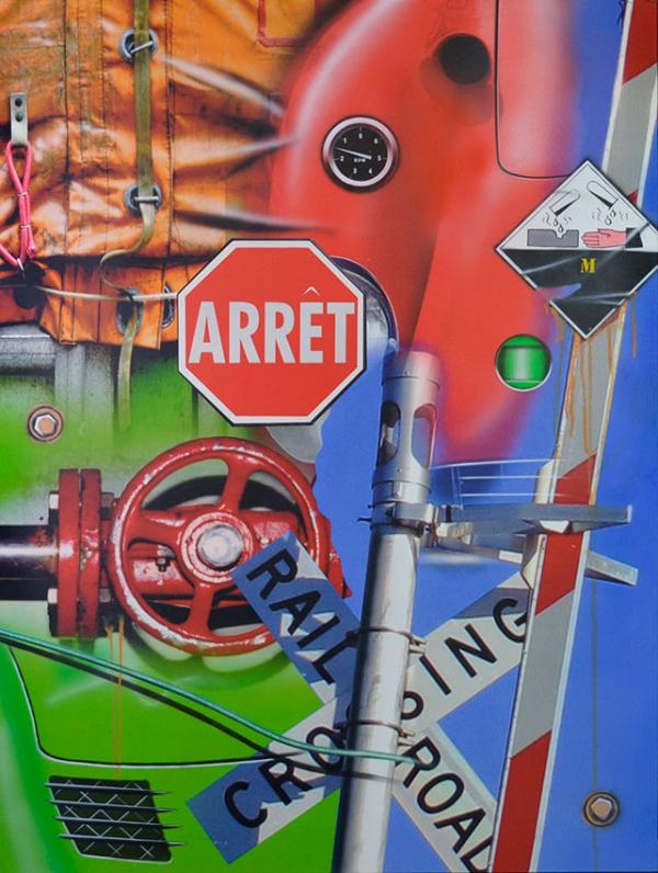 RAILROAD CROSSING / ARRET