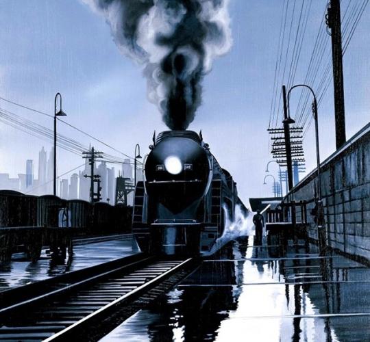 Entrée en gare
