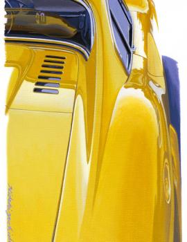 FERRARI 246 Dino jaune