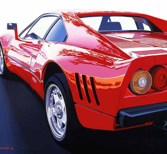 FERRARI 288 GTO  ARRIERE