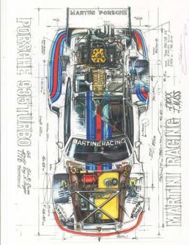 "PORSCHE 935 TURBO ""MARTINI RACING"""