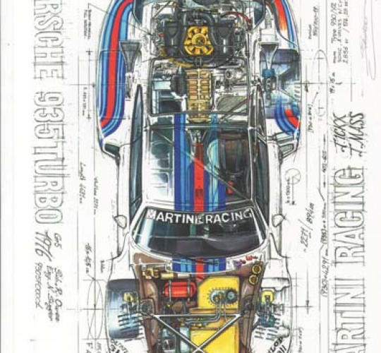"PORSCHE 935 TURBO ""MARTINI RACING"""