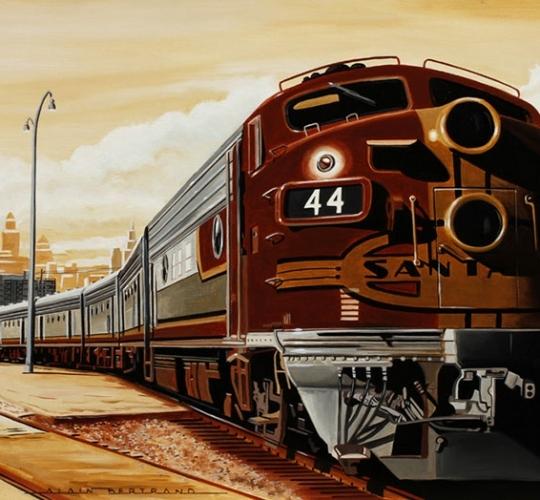 Sepia Train