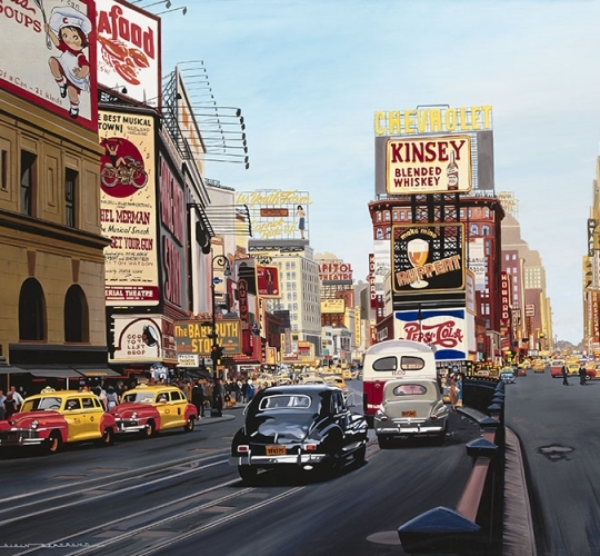 Time square 1948
