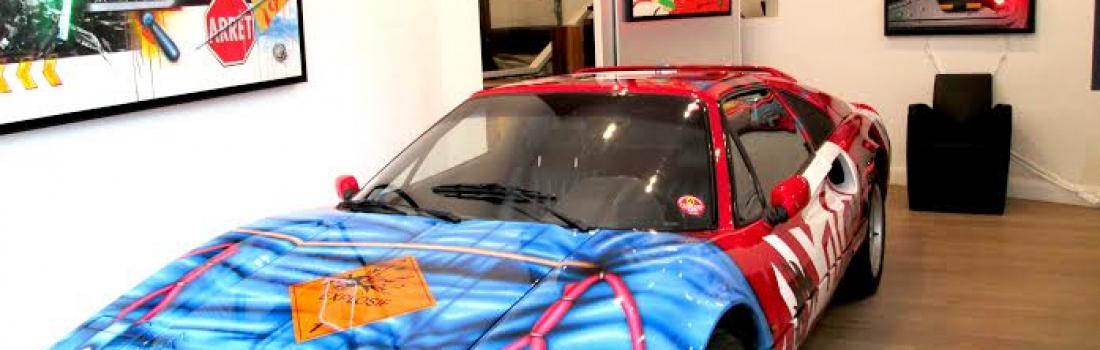 L'Art Car à la galerie Peltier