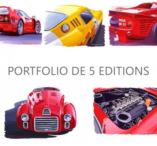 PORTFOLIO DE 5 EDITIONS