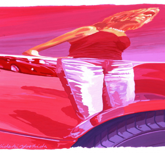 Ferrari reflet Femme
